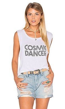 DAYDREAMER Cosmic Dancer Tank in White