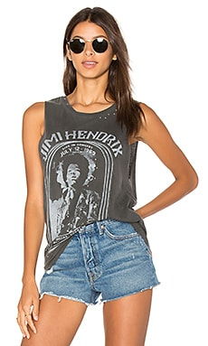 Hendrix Civic Center Tank in Faded Black