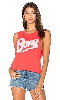 Bowie Let's Dance Tank in Riot Red