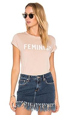 T-SHIRT MANCHES COURTES FEMINIST