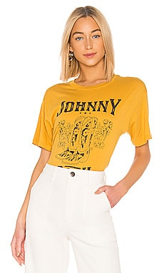 Johnny Cash Boots Tee DAYDREAMER $69