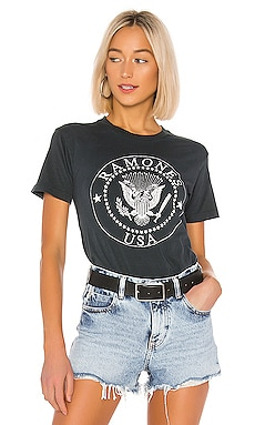 RAMONES USA CREST WEEKEND 圖案T恤 DAYDREAMER $69 暢銷品