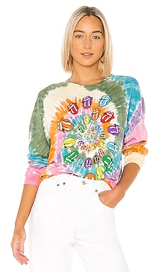 X REVOLVE Rolling Stones Bigger Bang Long Sleeve Tee DAYDREAMER $75