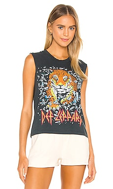 Def Leppard All Time High Rocker Muscle Tank DAYDREAMER $66