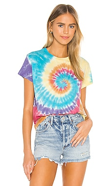 Tie Dye Girlfriend Tee DAYDREAMER $60 BEST SELLER