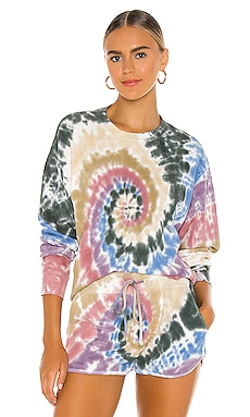 Autumn Tie Dye Thermal Long Sleeve DAYDREAMER $54