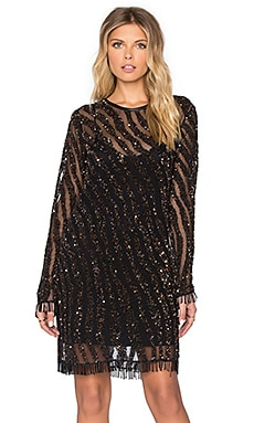 Deby Debo Devon Embellished Dress in Black