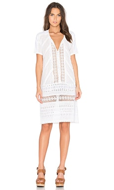 Deby Debo Angie Dress in Off White