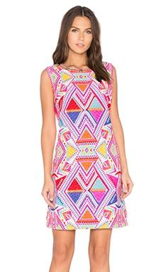 Deby Debo Kaz Embellished Dress in Jacquard