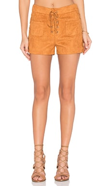 Texas Short in Camel