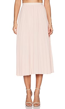 Deby Debo Clovis Midi Skirt in Light Pink