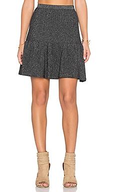 Deby Debo Comet Mini Skirt in Grey