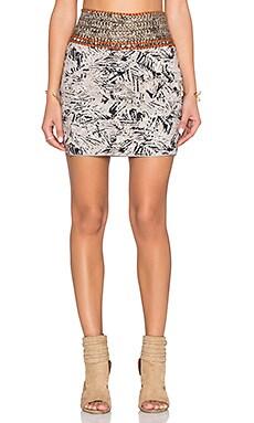 Deby Debo Djali Beaded Skirt in Multi