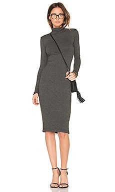 Alma Dress in Charcoal