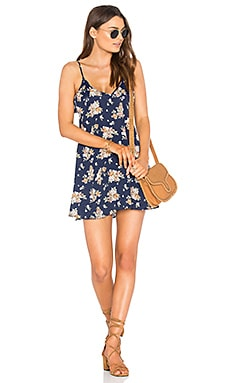 Mila Dress in Navy Floral