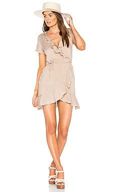 Selena Dress in Taupe