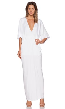 De Lacy Greece Maxi Dress in White