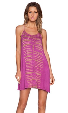 De Lacy Sybil Mini Dress in Fuchsia