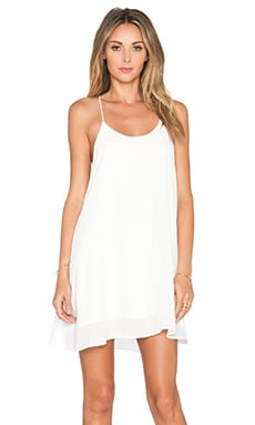 De Lacy Hollywood Mini Dress in White