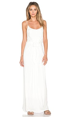De Lacy Alexandra Maxi Dress in White