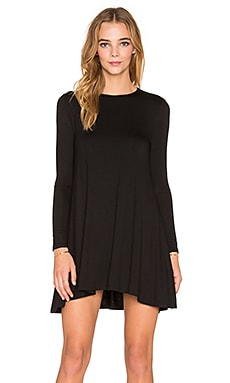 De Lacy Tyler Long Sleeve Dress in Black