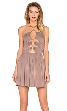 Sophia Dress in Taupe
