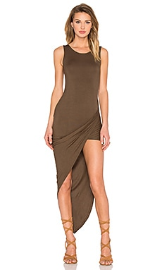 De Lacy Dawn Dress in Olive