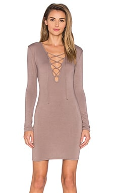 Elsa Dress in Taupe