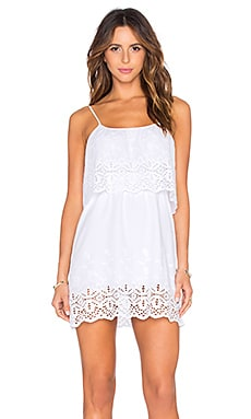 De Lacy Delphine Dress in White