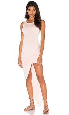 De Lacy Dawn Dress in Washed Pink