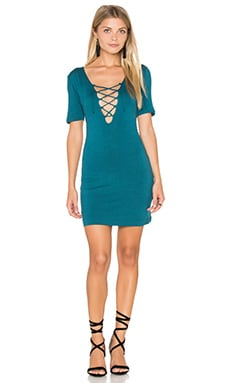 Carley Dress in Teal