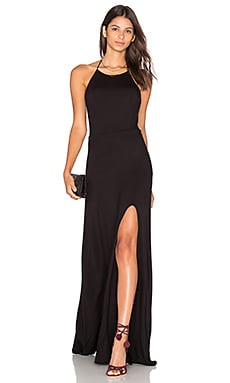 Nikki Maxi Dress in Black