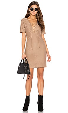 Riley Dress in Tan