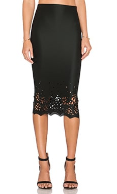 De Lacy Dakota Midi Skirt in Black