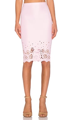 De Lacy x REVOLVE Dakota Skirt in Pale Pink