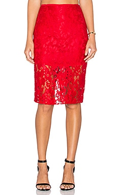 Shea Skirt in Red
