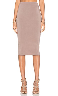 De Lacy Dakota Skirt in Taupe