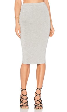 De Lacy Harlet Skirt in Heather Grey