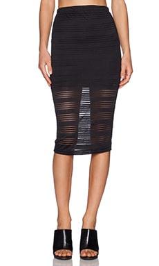 De Lacy Dakota Pencil Skirt in Black