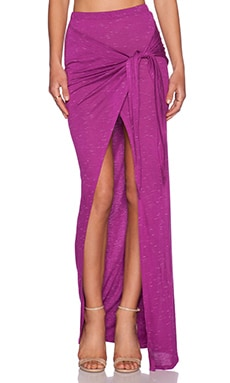 Monica Maxi Skirt in Fuchsia
