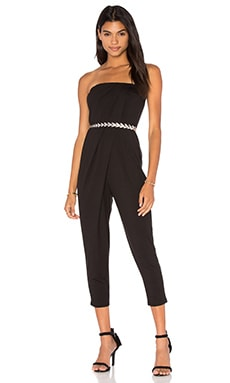 De Lacy Hazel Jumpsuit in Black