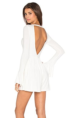 De Lacy Luna Romper in White