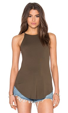 Alissa Tank Top in Olive