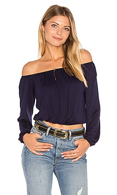 Cain Top in Navy