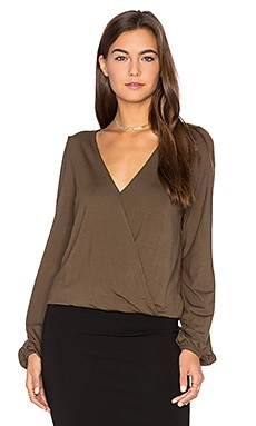 Adele Top in Olive