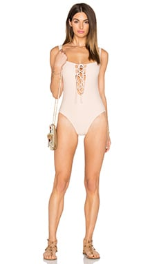 De Lacy Willow One Piece in Ballet Pink
