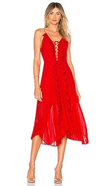 Платье миди gwen - DELFI