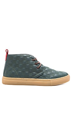 Del Toro Digital Quilted Chukka in Hunter Green
