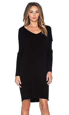 DemyLee Dania Sweater Dress in Black