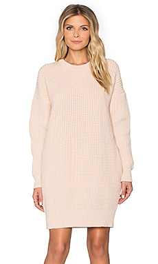 DemyLee Sydney Sweater Dress in Nude